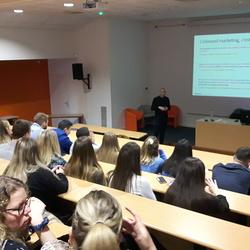 Conférence sur l''inbound marketing pour les BTS NDRC2 du Pôle Sup