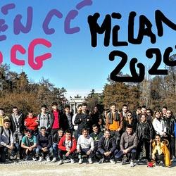 Les étudiants en DCG ST BRIEUCà Milan en février 2020
