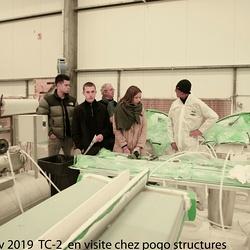 Les TC 2 option Nautisme en visite.