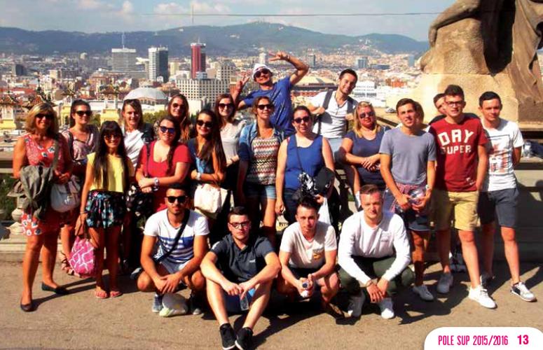 BTS NRC 2 : Voyage à Barcelone du 6 au 12 octobre 2015 0