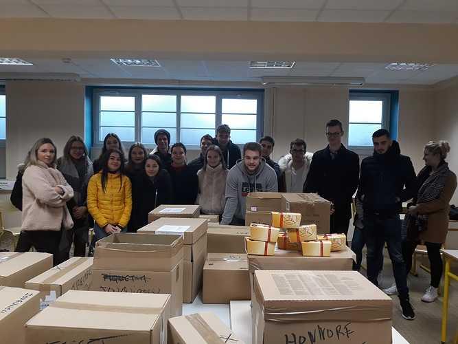 BTS NDRC: opération vente de chocolats 0
