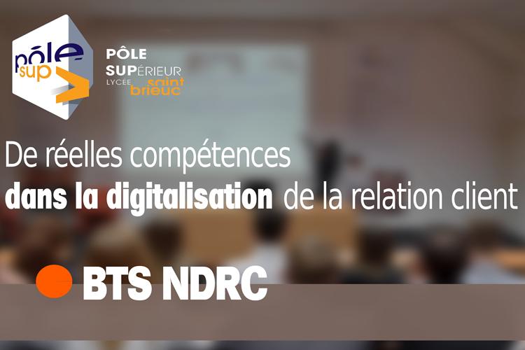 BTS NDRC : Acquérir des compétences 0