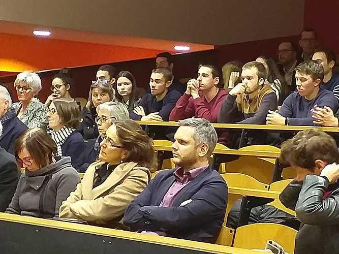 Inauguration du Master CCA de Saint Brieuc Bretagne 0