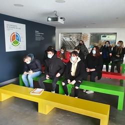 BTS GESTION DE LA PME : visite du centre de tri GENERIS KERVAL - PLOUFRAGAN