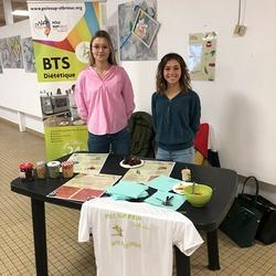 Stand sur le thème des légumineuses - BTS DIET -Capucins du centre hospitalier de Saint-Brieuc