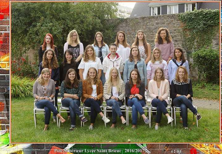 Photo de classe 2016-2017 : BTS Diététique 2 0
