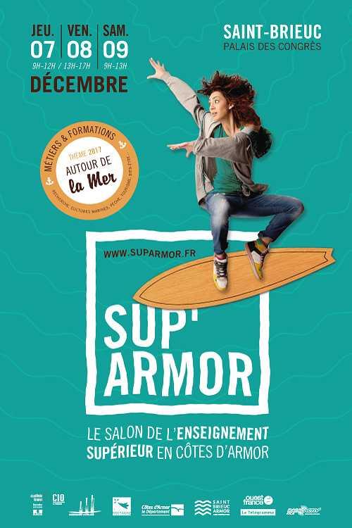 RDV avec le Pôle Sup au salon Sup''Armor 2017 0