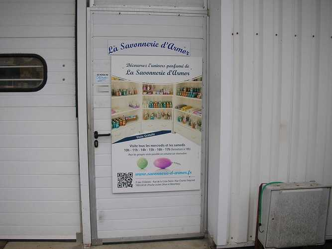 Les AG1 en visite à la Savonnerie d''Armor - Trégueux agsavonnerie2