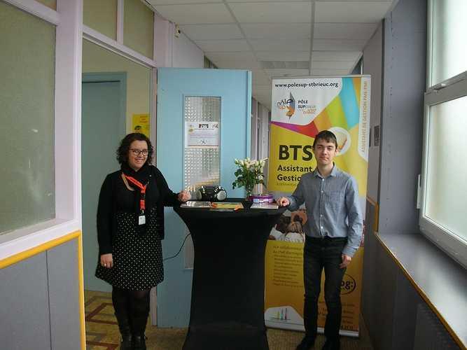 Le BTS GESTION DE LA PME présenté aux Journées Portes Ouvertes du Pôle Sup. dscn5003