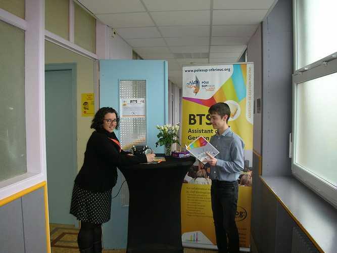 Le BTS GESTION DE LA PME présenté aux Journées Portes Ouvertes du Pôle Sup. 0