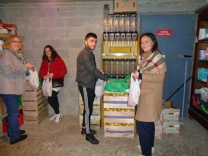 Épicerie solidaire saintvincent25janvier5