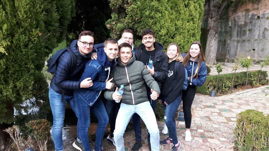 BTS NDRC2: voyage scolaire plein sud à Malaga 201911111457070