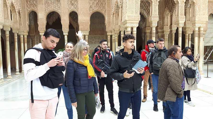 BTS NDRC2: voyage scolaire plein sud à Malaga 20191111162044