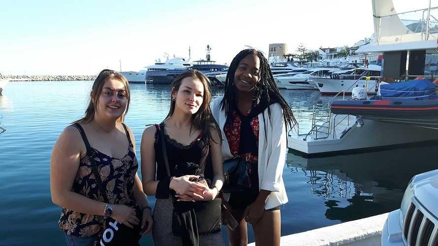 BTS NDRC2: voyage scolaire plein sud à Malaga 20191112163905