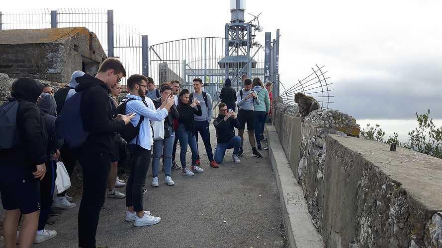 BTS NDRC2: voyage scolaire plein sud à Malaga 20191113114403