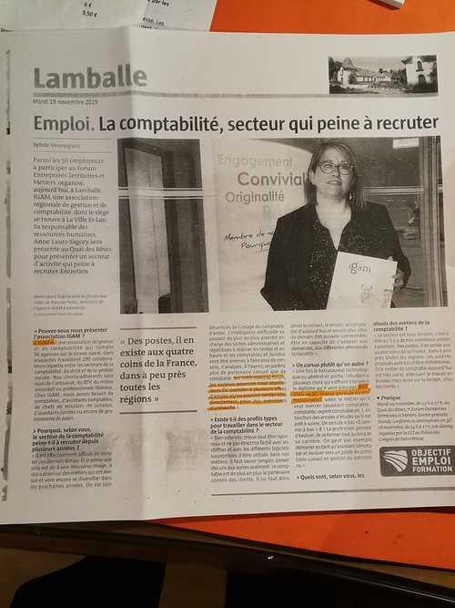 Licence Comptabilité gestion DCG : De nombreux débouchés. On recrute !Bretagne, St Brieuc POLE SUP 0