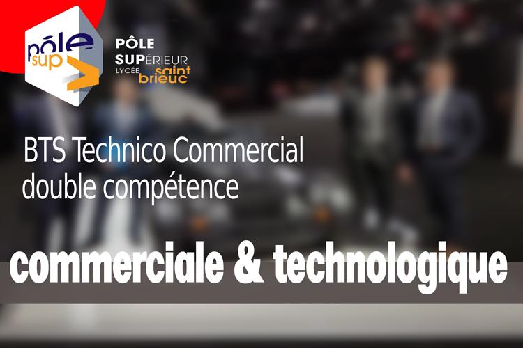 BTS Technico-Commercial une double compétence 0