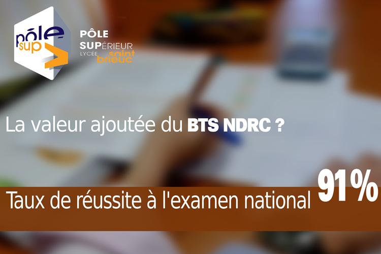 BTS NDRC : La réussite ! 0