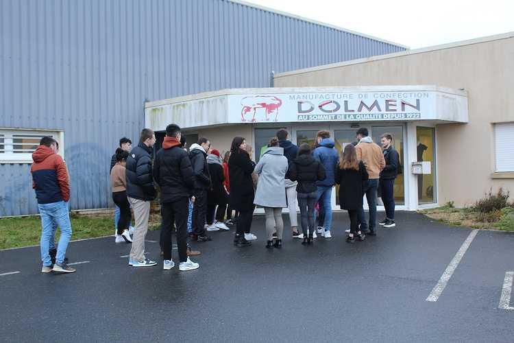 Visite de l''entreprise Dolmen 0