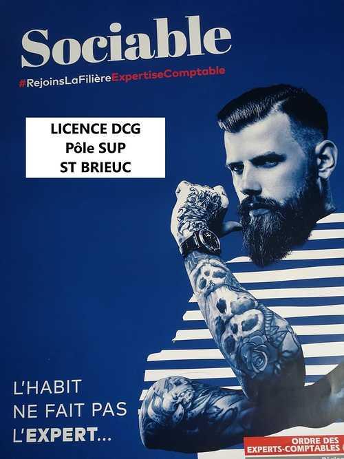 Licence DCG Compta gestionPôle Sup St Brieuc promo2juillet2021