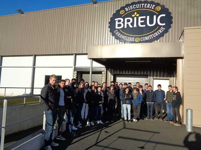 DCG2 : visite de la Biscuiterie Brieuc visitebiscuiterieoctobre